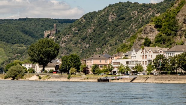 Burg Maus in Wellmich im Tal der Loreley